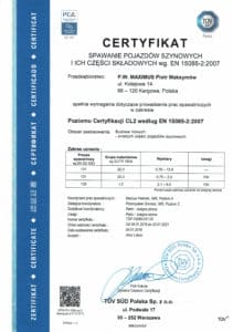 CERTYFIKAT POLSKI 15085 1 211x300