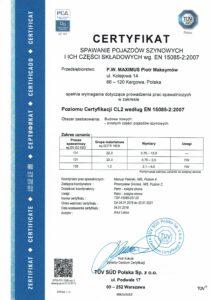 CERTYFIKAT POLSKI 15085 1 4 211x300